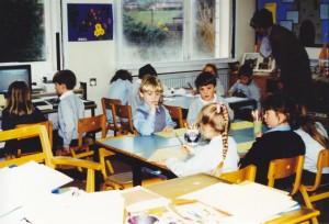 School Classroom - 1992
