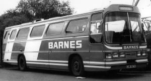 Bedford YNT Dominant III coach [LHR 567X] - 1981