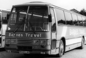Leyland Tiger Duple Laser coach [B640 LJU] - 1984