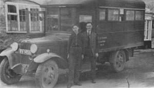 Jim and Bob Barnes with the Ford AA – 1937