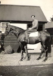 Dick Holland at Hightown Stables