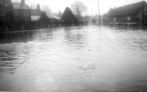 From the Pond towards South Street- February 1940