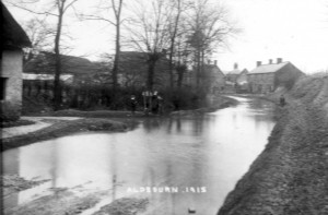 Lottage Rd near Goddards Lane- January 1915