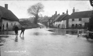 Oxford Street from the Pond -January 1915