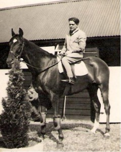 Jack Dowdeswell at Hightown Stables