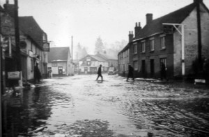 West St towards The Square - February 1940